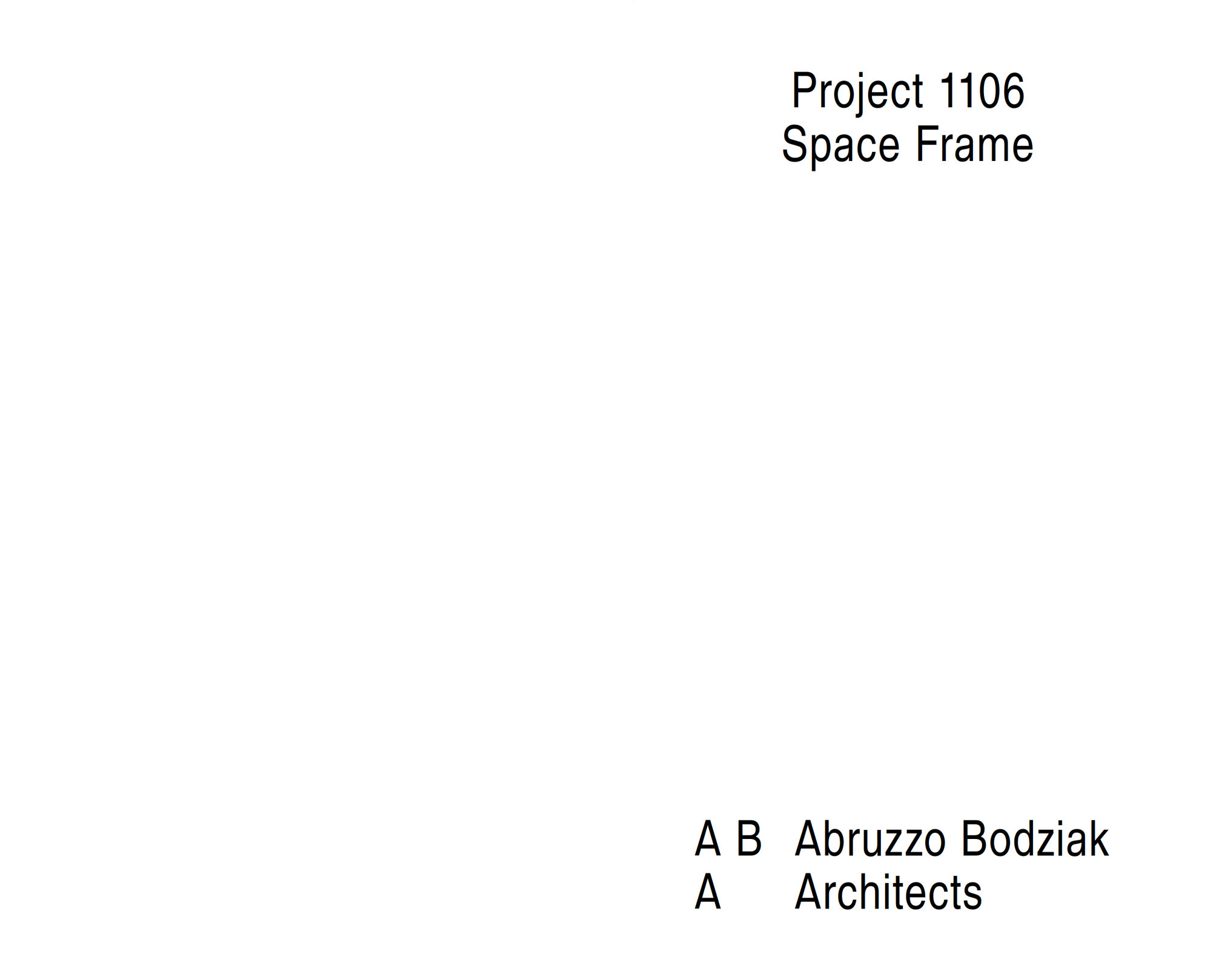 1106 space frame project 02 2000 xxx q85