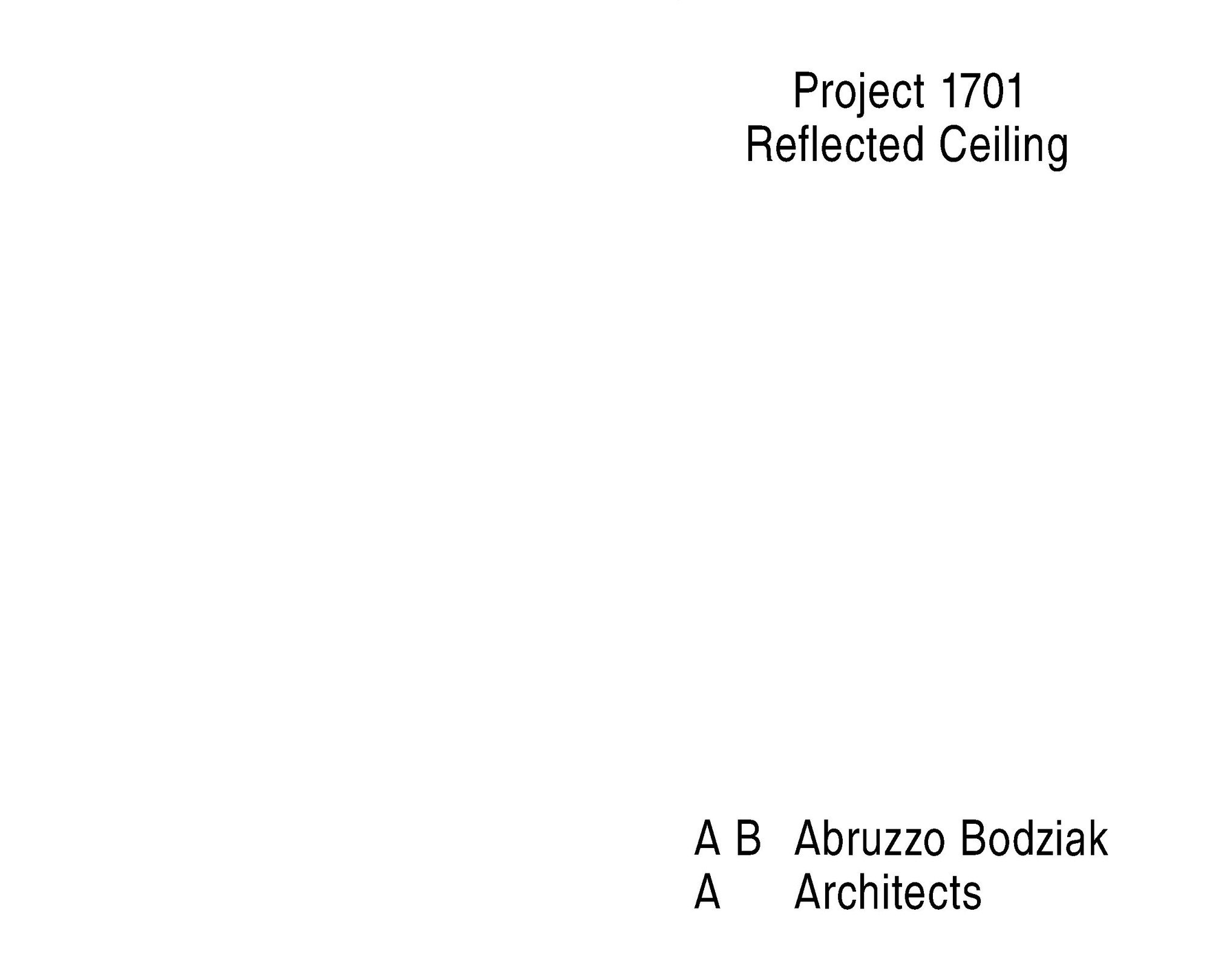 1701 reflected ceiling project page 02 2000 xxx q85